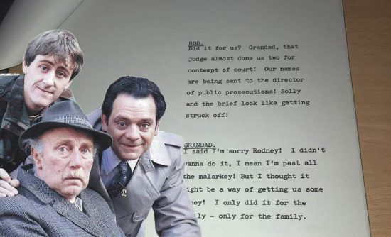The original script of Hole in One but the Grandad version