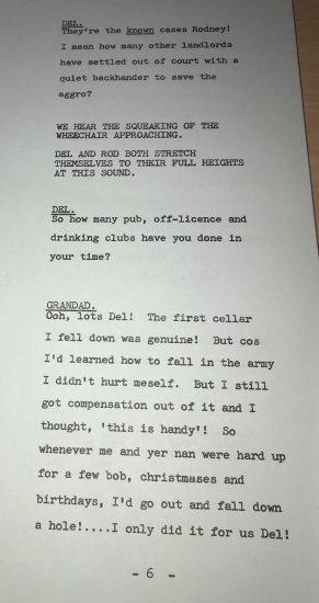 hole in one lost script page 6
