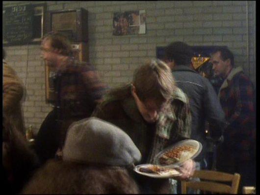 2nd Man (Café) - A Royal Flush (says the line 'This machine's broke again Sid')