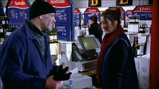 Cashier - Strangers on the Shore (serves Denzil in Duty Free)