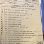 BBC props lists & scripts