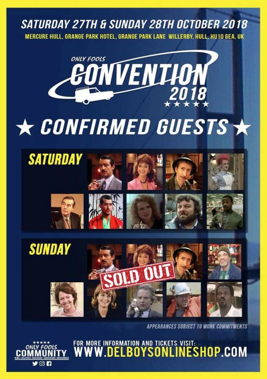 Convention for 2018 Only Fools and Horses