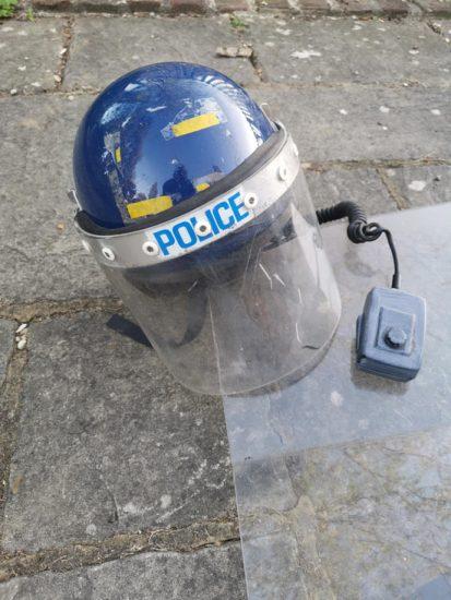 Peckham Riot Police Helmet