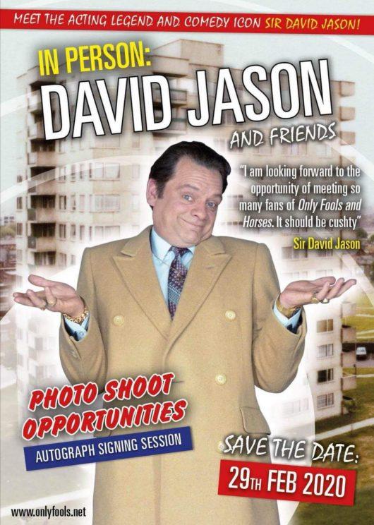 Sir David Jason aka Del Boy