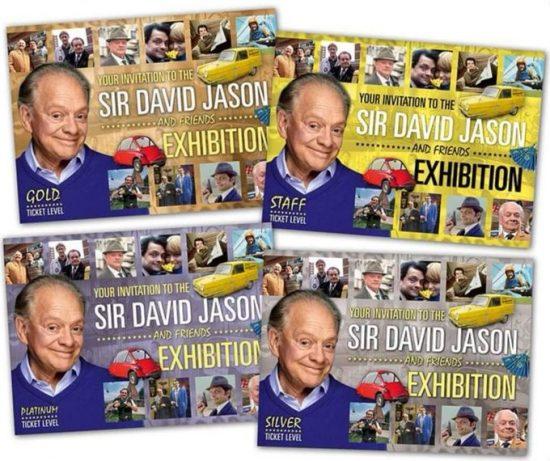Meet SIR DAVID JASON at the EXHIBITION
