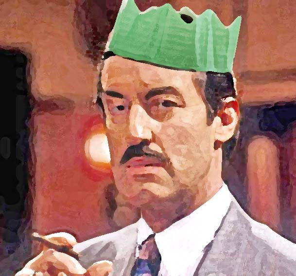 only fools and horses: with Boycie and his green hat