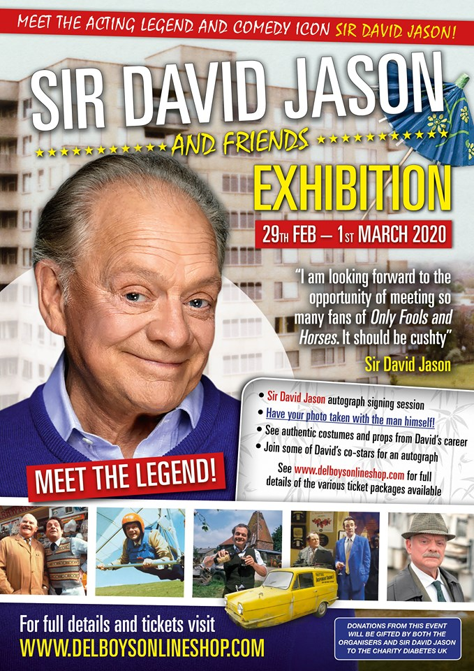 Meet Sir David Jason