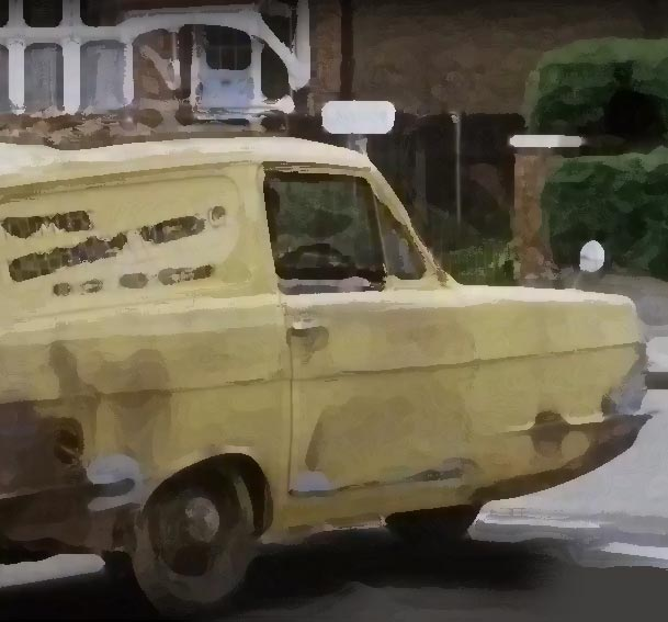 Only Fools script: 3-wheel van
