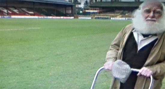 Buster Merryfield at Dean Court