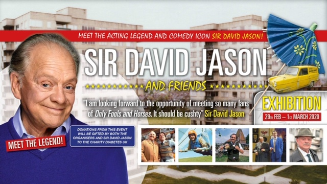 Tickets for the David Jason Exhibition