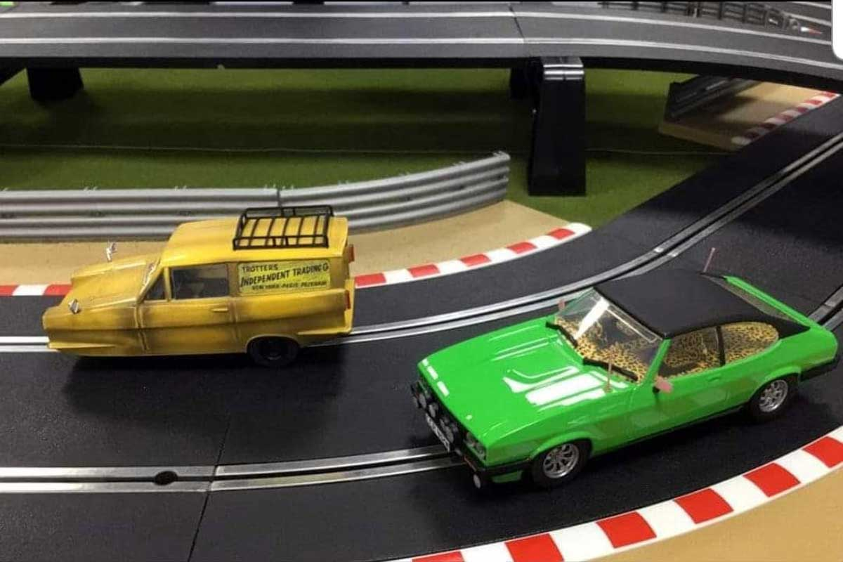 Only Fools And Horses Scalextric set