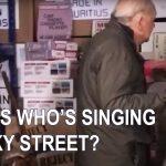 Del Boys Garage : Sir David Jason Singing