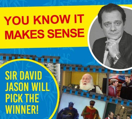 WIN A DEDICATED PHOTO FROM SIR DAVID JASON