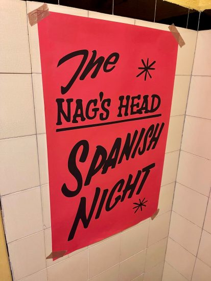 Spanish Night at the Nags Head