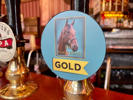 Gold Comedy at the Nags Head