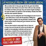 A Message From Sir David Jason